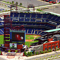 Phillies Citizens Bank Park Philadelphia Print by Duncan Pearson