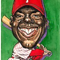 Phillies Print by Robert  Myers