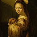 Picture of a Young Girl Poster by Govaert Flinck