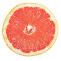 Pink Grapefruit Poster by James BO  Insogna