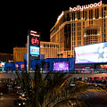 Planet Hollywood Hotel Print by Andy Smy
