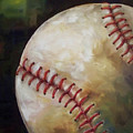 Play Ball Print by Kristine Kainer