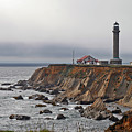 Point Arena Lighthouse CA Print by Christine Till
