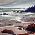 Point Lobos Print by Donald Maier