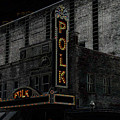 Polk Movie House Print by David Lee Thompson