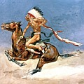 Pony War Dance Poster by Frederic Remington