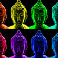 Pop art buddha  Print by Fabrizio Troiani
