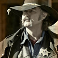 Portrait of a Bygone Time Sheriff Print by Christine Till