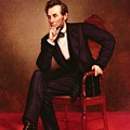 Portrait of Abraham Lincoln Print by George Peter Alexander Healy