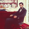 Portrait of Abraham Lincoln Print by Howard Pyle