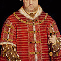 Portrait of Henry VIII Print by Hans Holbein the Younger
