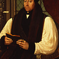 Portrait of Thomas Cranmer Poster by Gerlach Flicke