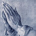 Praying Hands, Art By Durer Poster by Sheila Terry