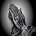 Praying Hands Print by Ronald Chambers