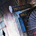 Preservation Hall Sign Print by Jeremy Woodhouse
