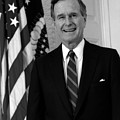 President George Bush Sr Poster by War Is Hell Store