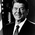 President Ronald Reagan Print by International  Images