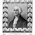 Presidents of The United States 1789-1889 Poster by War Is Hell Store