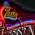 Psychedelic Zestos Poster by Corky Willis Atlanta Photography