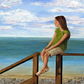 Quiet Moment Print by Roseann Gilmore