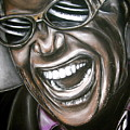 Ray Charles Print by Zach Zwagil