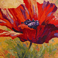 Red Poppy II Poster by Marion Rose