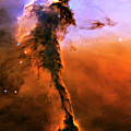 Release - Eagle Nebula 2 Poster by The  Vault - Jennifer Rondinelli Reilly