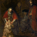 Return of the Prodigal Son Print by Rembrandt Harmenszoon van Rijn