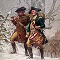 Revolutionary War Soldiers Marching Print by War Is Hell Store