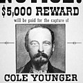 Reward poster for Thomas Cole Younger Print by American School