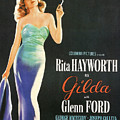 Rita Hayworth as Gilda Poster by Nomad Art And  Design