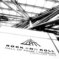 Rock and Roll Hall Of Fame Poster by Kenneth Krolikowski