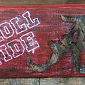 Roll Tide - Large Print by Racquel Morgan