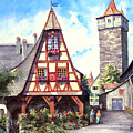 Rothenburg Memories Poster by Sam Sidders