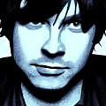Ryan Adams Print by Dan Lockaby