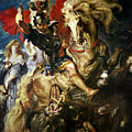 Saint George and the Dragon Print by Peter Paul Rubens