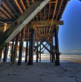 San Clemente Pier Print by Kelly Wade