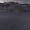 Sand Fence at Robert Moses Print by Jim Dohms