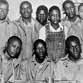 Scottsboro Boys In Jefferson County Print by Everett