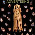 Scream Advertising Print by Eric Kempson