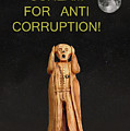 Scream For Anti Corruption Print by Eric Kempson