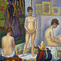SEURAT: MODELS, c1866 by Granger