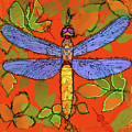 Shining Dragonfly Poster by Mary Ogle