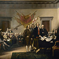 Signing The Declaration Of Independance Print by War Is Hell Store