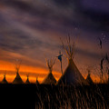 Silent Teepees by Paul Sachtleben