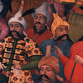 Six Sultans Print by Carl Purcell