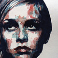 Sixties Sixties Sixties Twiggy Print by Paul Lovering