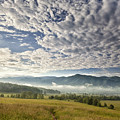 Smokies Cloudscape Print by Andrew Soundarajan