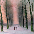 Snow Scene Wanstead Park   by Nils Hans Christiansen