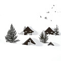 Snowed In Poster by Gareth Davies